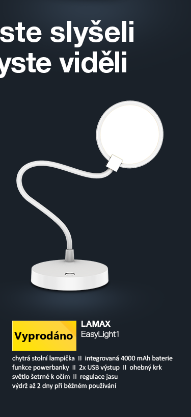 LAMAX EasyLight1 stolní lampička