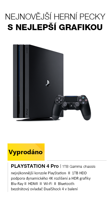 SONY PlayStation 4 Pro - 1TB CUH-7216B Gamma chassis series