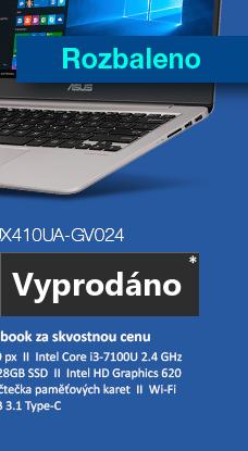 ASUS Zenbook UX410UA-GV024 šedá