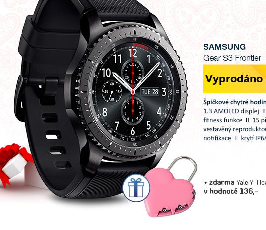 SAMSUNG Gear S3 Frontier černá