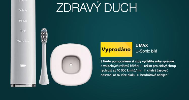 UMAX U-Sonic bílá