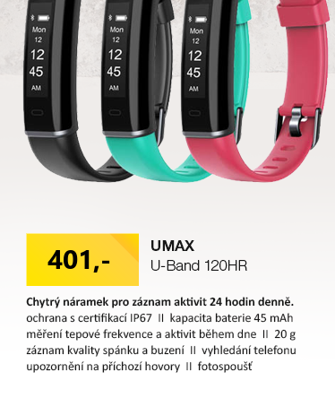 UMAX U-Band 120HR zelená