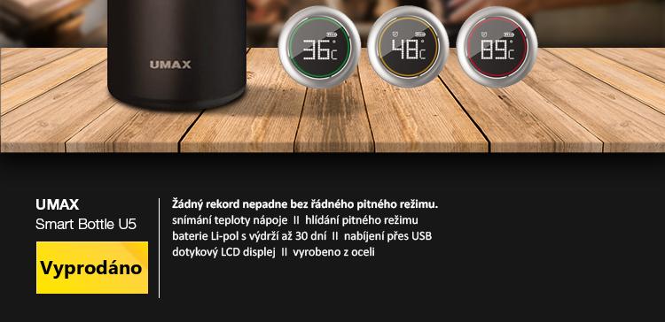 UMAX Smart Bottle U5 černá