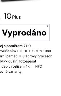 SONY Xperia 10Plus I4213 modrá