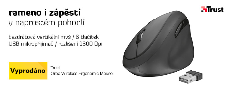 Trust Orbo Wireless Ergonomic Mouse