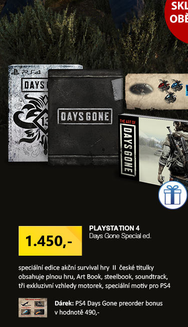 PS4 Days Gone Special ed