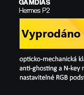 GAMDIAS Hermes P2 černá