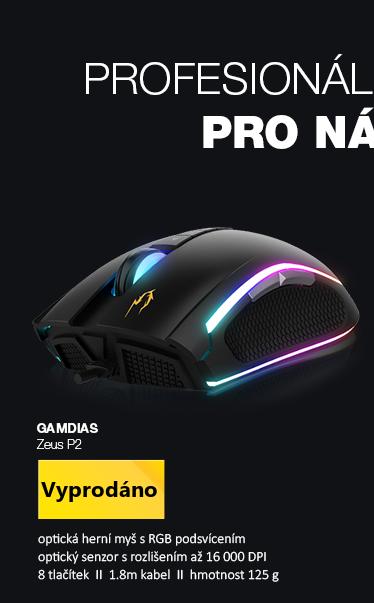 GAMDIAS Zeus P2 černá