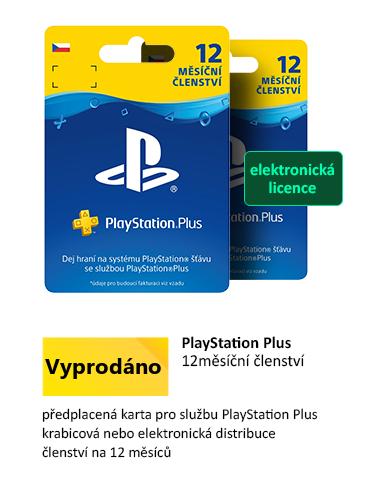 Sony Playstation Plus Card dárková karta - 365 dní