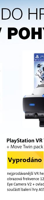 Pro virtuální realitu Playstation VR V2