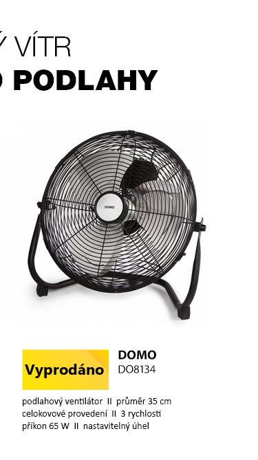 DOMO DO8134 Podlahový ventilátor 35cm