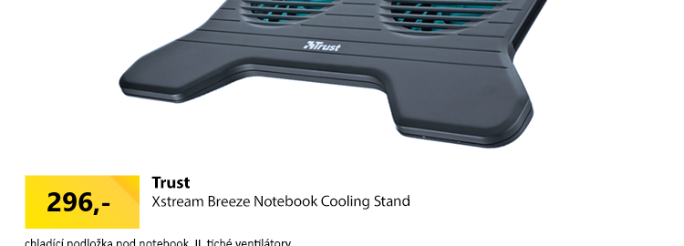 Trust Xstream Breeze Notebook Cooling Stand