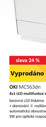 OKI MC563dn černá