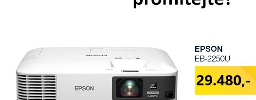 EPSON EB-2250U bílá