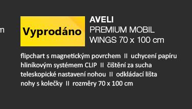 AVELI PREMIUM MOBIL WINGS 70x100 cm