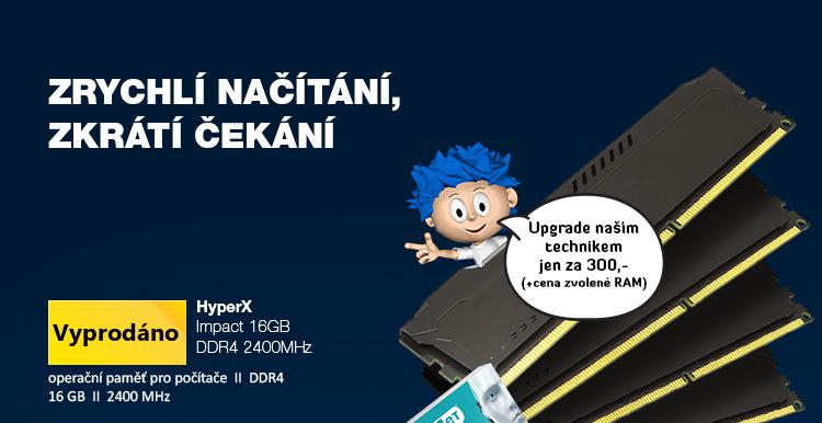 HyperX Impact 16GB DDR4 2400MHz
