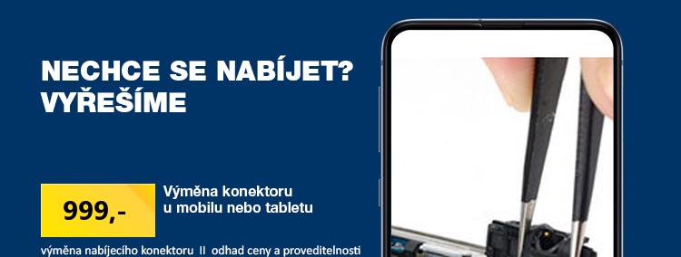 Výměna konektoru u mobilu nebo tabletu