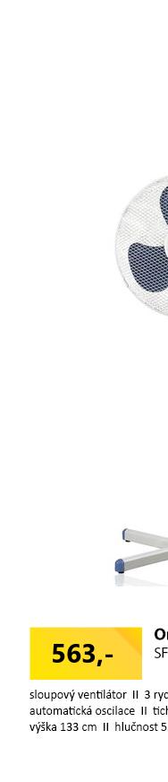 Orava SF-13 small - Stolní ventilátor
