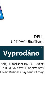 DELL U2419HC UltraSharp černá