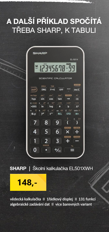 Sharp EL501XWH