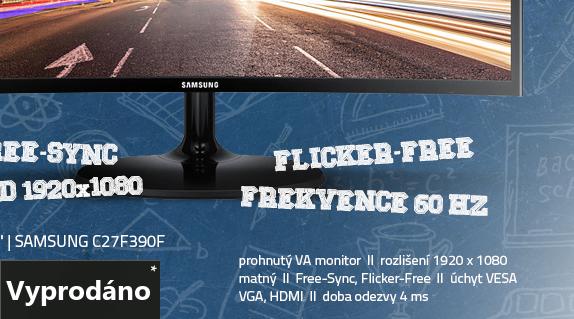 LCD Monitor 27 Samsung C27F390F