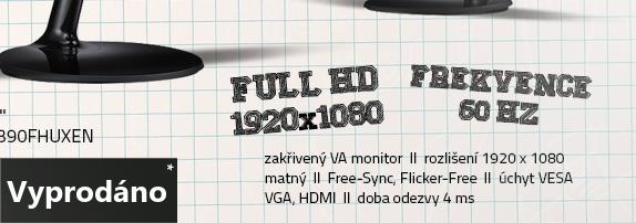 LCD Monitor 24 Samsung LC24F390FHUXEN