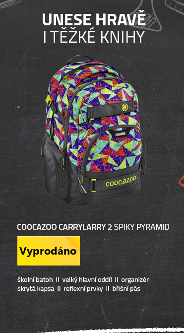 Coocazoo CarryLarry 2 Spiky Pyramid