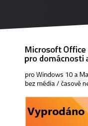 Microsoft Office 2019 PC a Mac pro domácnosti a podnikatele CZ
