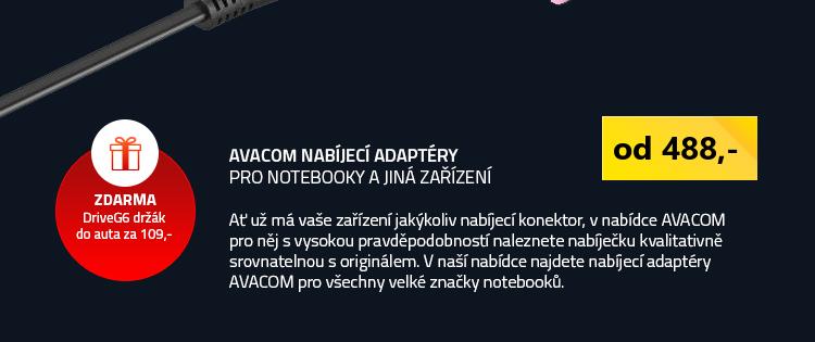 Avacom nabíjecí adaptéry