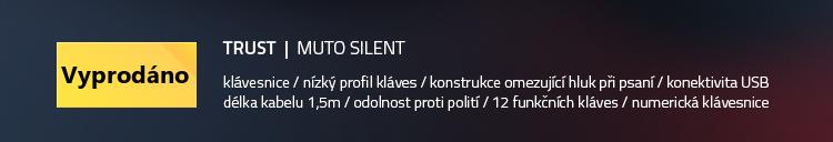 Trust Muto Silent černá