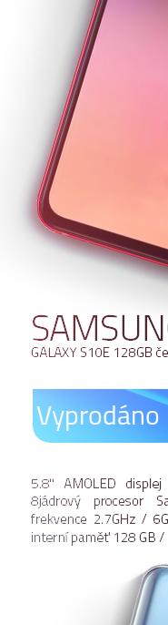 Samsung Galaxy S10e 128Gb červená