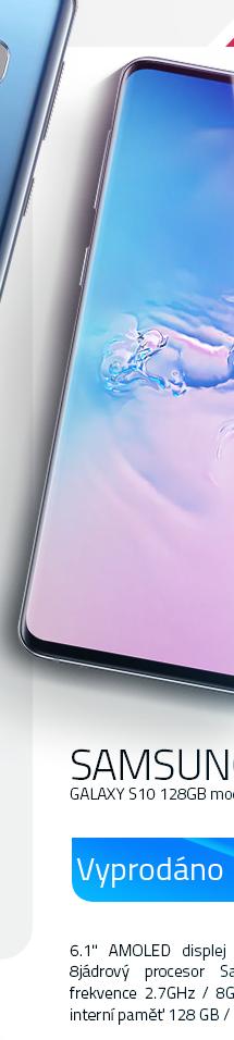 Samsung Galaxy S10 128Gb modrá