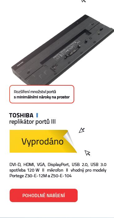 Toshiba replikátor portů III