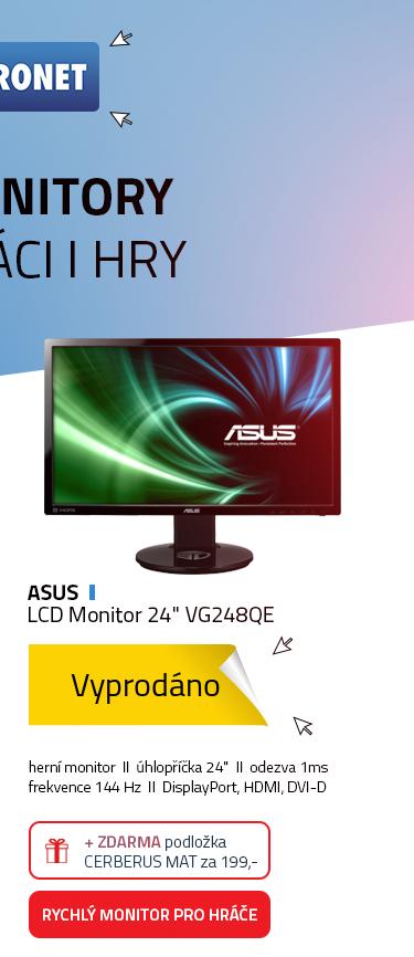 """24"""" ASUS VG248QE Gaming"""