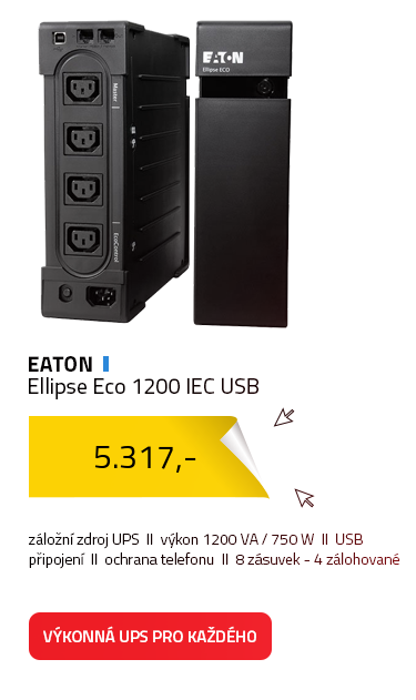 Eaton Ellipse Eco 1200 IEC USB
