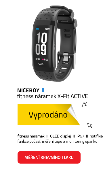 Niceboy fitness náramek X-Fit ACTIVE