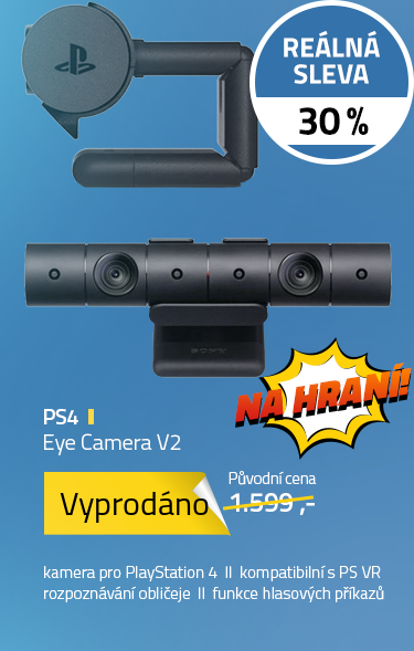 PS4 Eye Camera V2 (New PlayStation® Camera, PSVR)