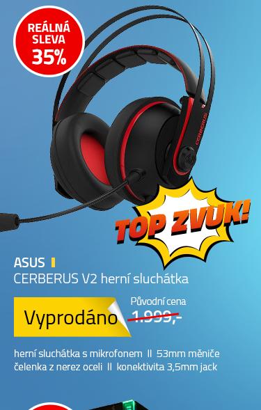 ASUS CERBERUS V2 herní sluchátka