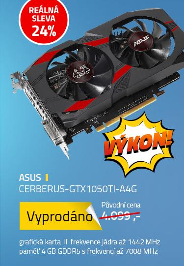ASUS CERBERUS-GTX1050TI-A4G