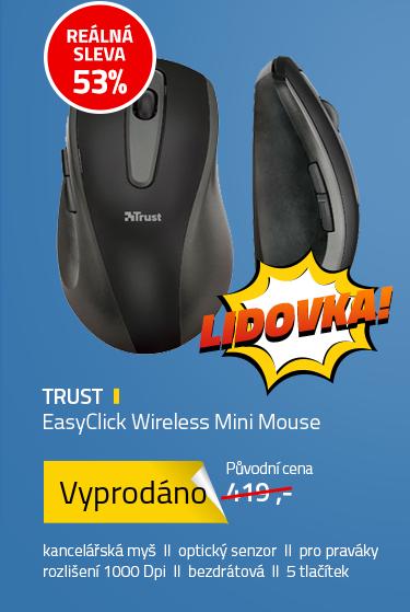 Trust EasyClick Wireless Mini Mouse