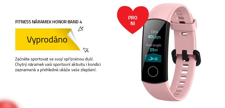 Honor Band 4 růžová