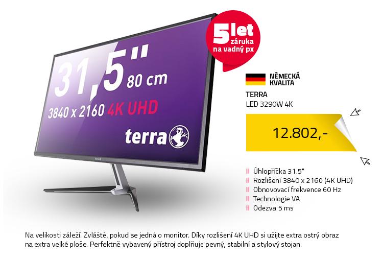 """31.5"""" TERRA LED 3290W 4K"""