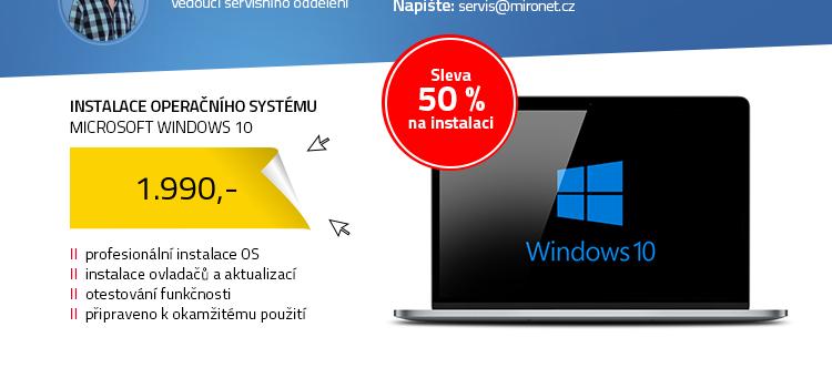 Instalace operačního systému Windows