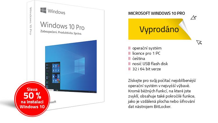 Microsoft Windows 10 Pro CZ 32&64-bit (FPP)