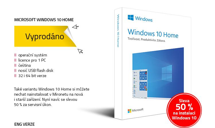 Microsoft Windows 10 Home CZ 32&64-bit (FPP)