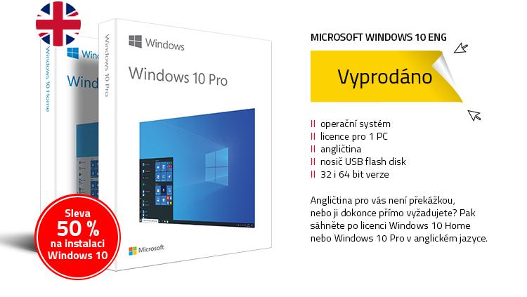 Microsoft Windows 10 Home EN 32&64-bit (FPP)