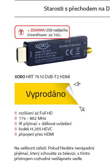 Xoro HRT 7610 DVB-T2 HDMI