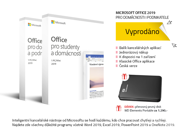 Microsoft Office 2019 pro domácnosti a studenty | domácnosti a podnikatele