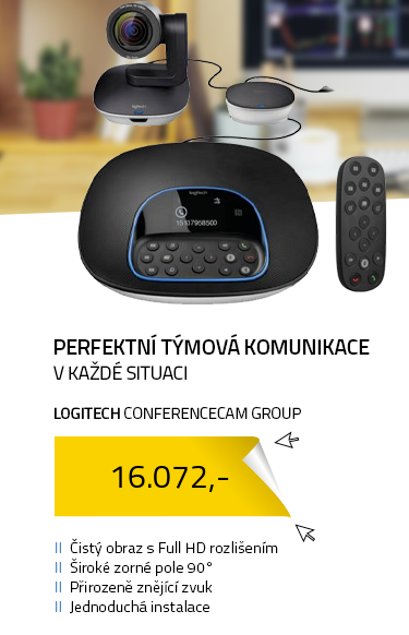 Webkamera Logitech ConferenceCam Group