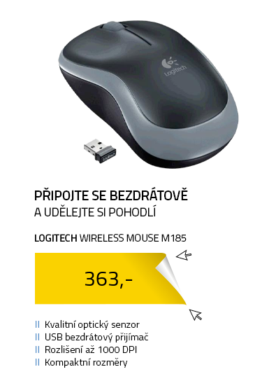 Logitech myš Wireless Mouse M185